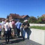 Besichtigung der Baumaßnahmen in Eisfeld