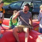 Schlauchbootfahrt
